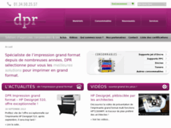 DPR, impression grand format et consommables