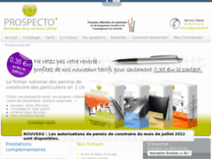 Prospecto, services web-marketing et fichiers prospects