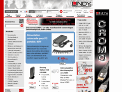 Lindy.fr, la boutique en ligne de LINDY France