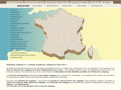 Guides des campings en France