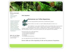 Informations sur les aquariums
