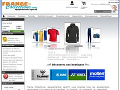 Boutique de sport France Collections