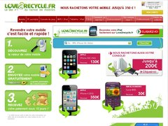 Love2recycle.fr rachète vos anciens iphone