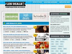 Tous les sites de deals
